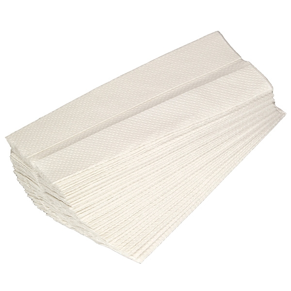 Great Value Standard 1 Ply C Fold Hand Towel White | Hand Towels | PP2744B |