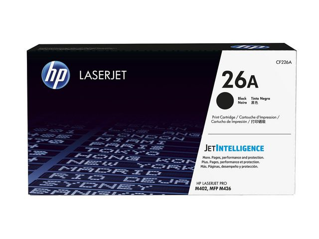 Great Value Black HP 26A Toner Cartridge | Hewlett Packard | CF226A | Hewlett Packard