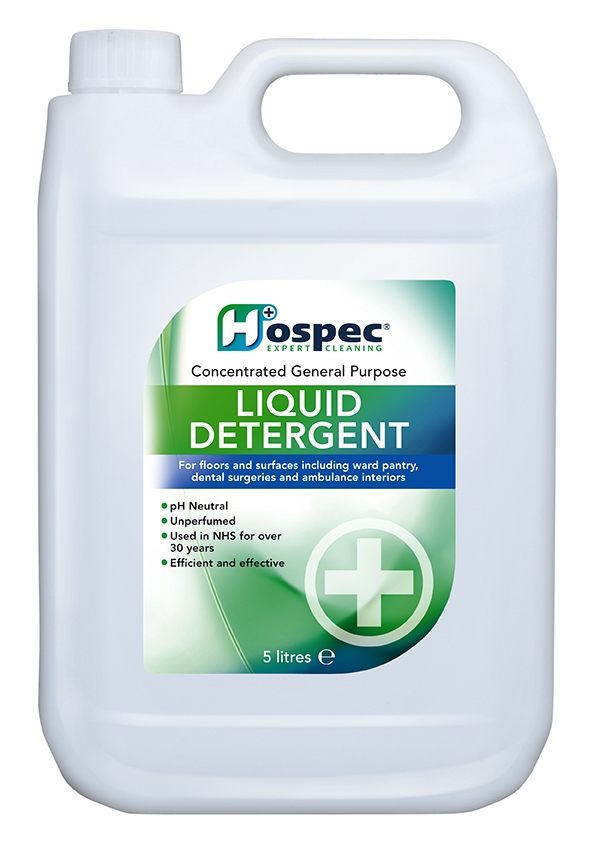 Great Value Neutral Liquid Detergent 5 Litres (Case of 3) | Multi Surface Cleaners | HOSWULL0500101 | Hospec