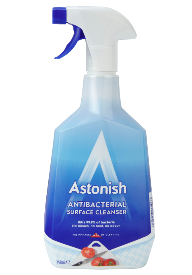 Great Value Multi Surface Antibacterial Cleaner Spray Pack of 1 | Multi Surface Cleaners |  | Astonish