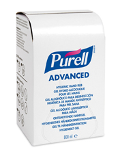 Great Value Purell Advanced Hygienic Hand Rub 800ml | Hand Sanitisers | 9657-12-EEU00 | Purell