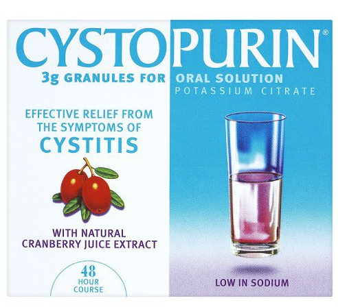 Great Value (P) Cystopurin Sachets 3g | A-C |  |