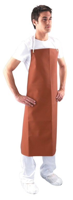 Cheap Red Rubber Apron | Aprons |  | Medical Supermarket
