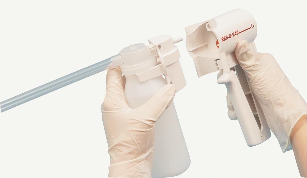 Res-Q-Vac Manual Aspirator With Soft Adult Yankauer | Medical Supermarket