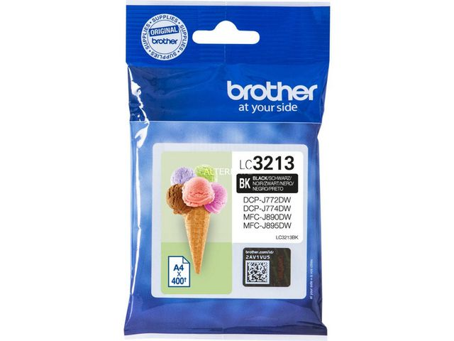 Great Value Brother LC3213BK Black Ink Cartridge | Brother | LC3213BK | Brother