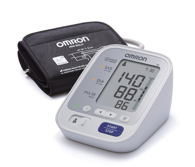 Great Value Omron M3 Upper Arm Blood Pressure Monitor | Blood Pressure Monitors | M3 | Omron