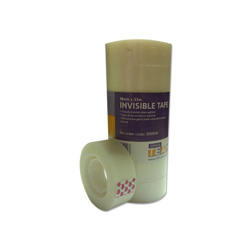 Cheap Clear Small Core Invisible Tape 18mm x 33m | Clear Sticky Tape |  |