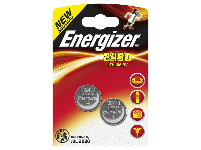 Great Value Energizer CR2450 Coin Cell Lithium Battery | Standard Batteries | CR2450 | Energizer