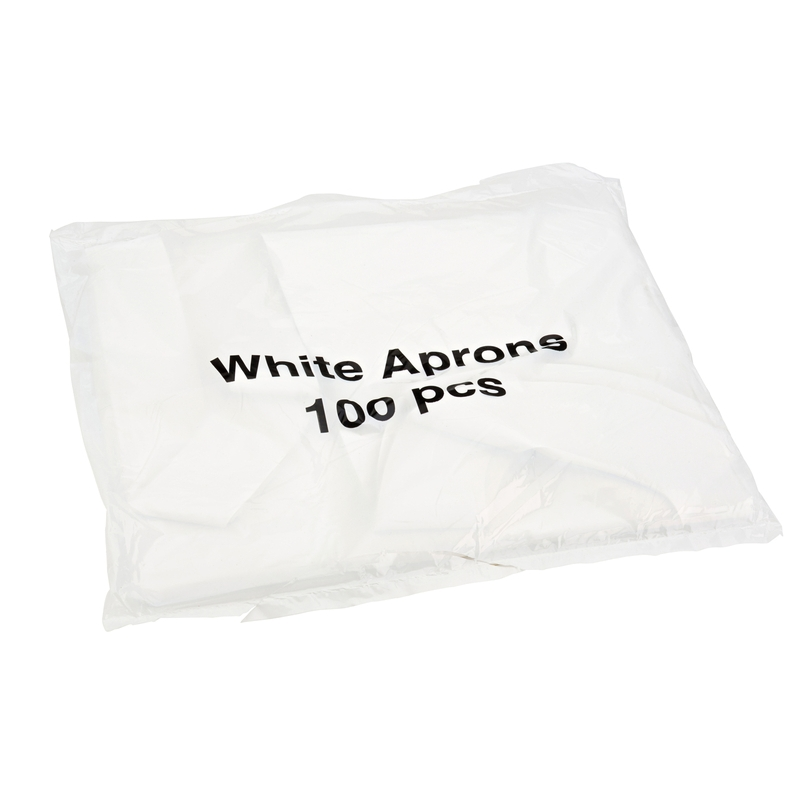 Essential Aprons in a Dispenser Pack White | Medical Supermarket