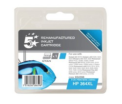Cheap Compatible HP No.364 High Capacity Ink Cartridge Cyan | Compatible |  |
