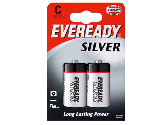 Great Value Eveready Everyday Batteries C Batteries | Standard Batteries |  |