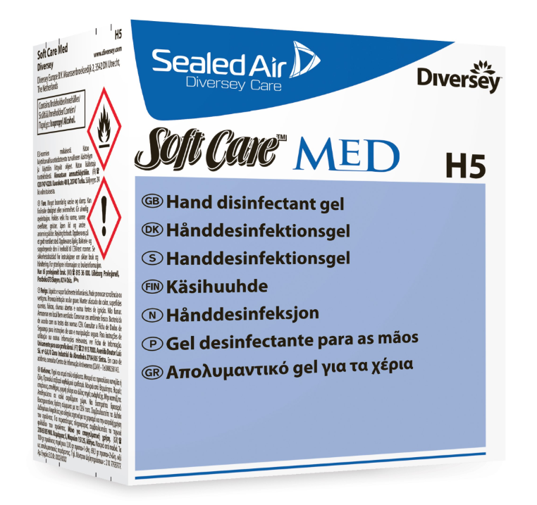 Great Value Diversey H5 Soft Care Disinfectant Gel | Hand Sanitisers | 100858312 |