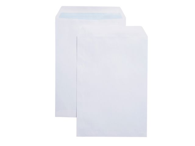 Great Value C4 White Plain Envelopes 80gsm, Self Seal | White Business Envelopes |  |