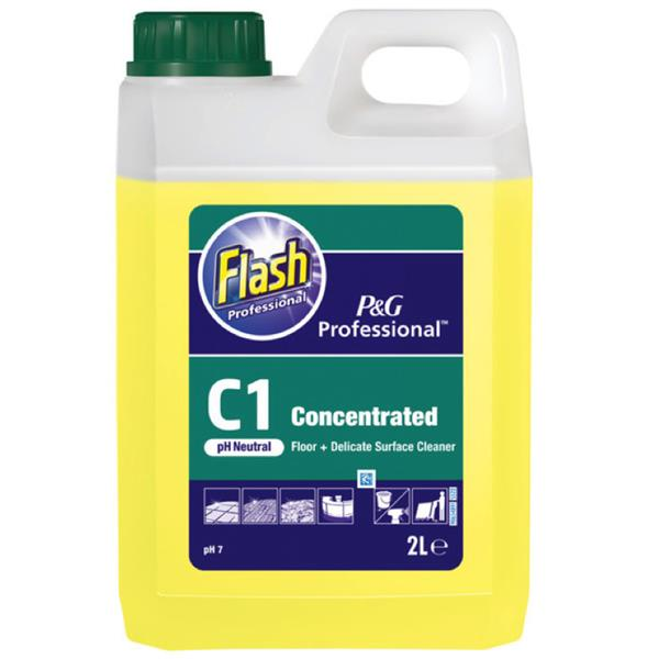 Flash Professional C1 Floor & Delicate Surface Cleaner | Medical Supermarket