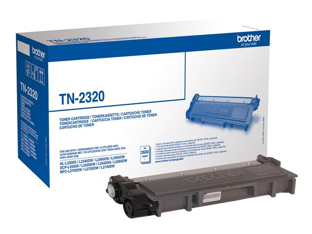 Great Value Brother TN2320 High Capacity Black Toner | Brother | TN2320 | Brother