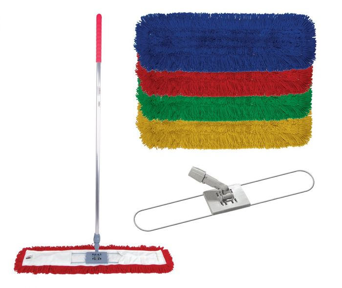 Great Value Sweeper Kit 60cm (pk/5) | Dustpans and Brooms | 103947 Blue | Robert Scott