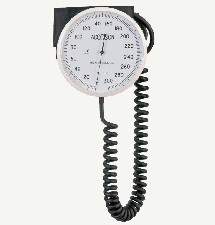 Great Value Accoson 6 Inch Aneroid Sphygmomanometer Wall | Blood Pressure Monitors | 0342 ANEROID WALL | Accoson