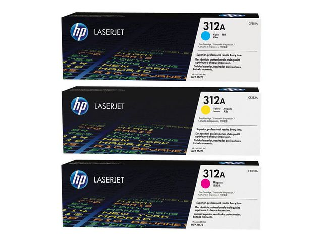 Great Value HP 312A LaserJet Toners - Multipack | Hewlett Packard |  |