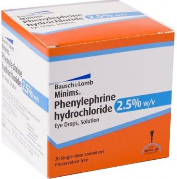 Great Value (POM) Phenylephrine Hydrochloride Minims 2.5% | P-Z |  |
