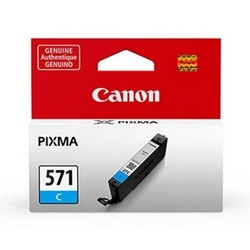 Cheap Canon CLI-571 InkJet Cartridge Page Life 340pp Cyan Ref 0386C001 | Canon |  |