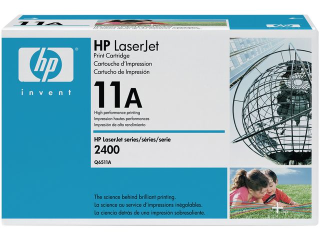 Great Value HP No.11A Black Toner | Hewlett Packard | Q6511A | Hewlett Packard