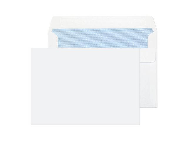 Great Value C6 White Plain Envelopes 80gsm, Self Seal | White Business Envelopes |  | Staples