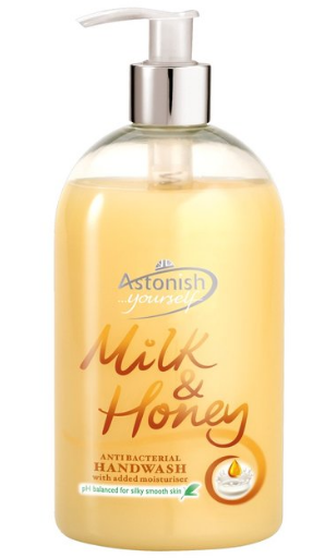 Great Value Astonish Hand Wash Milk & Honey | Hand Soap | C4550 | Astonish