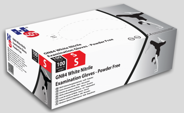 Cheap White Nitrile Examination Gloves X-Large | Nitrile Examination Gloves |  | Medical Supermarket