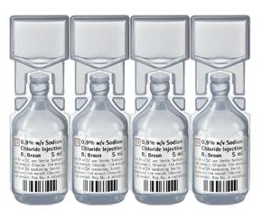 Great Value (POM) Sodium Chloride Inj 0.9% Mini Plasco 5ml | P-Z |  |