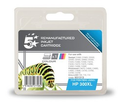 Cheap HP 300XL Compatible Ink Cartridge Tri-Colour (CC644EE) High Capacity | Compatible |  |