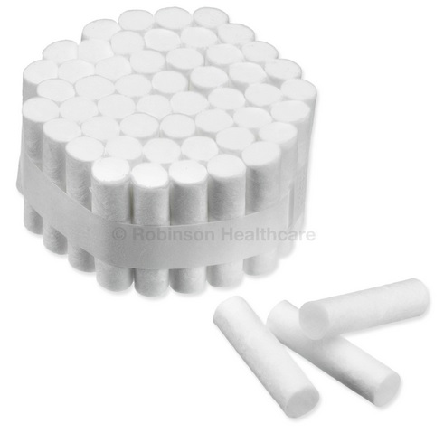 Great Value Dental Cotton Rolls Size 2 | Cotton Wool, Balls, Buds | 6851 | Instrapac