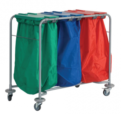 Great Value Triple Laundry Trolley | Linen and Laundry Management |  | Sidhil/Doherty