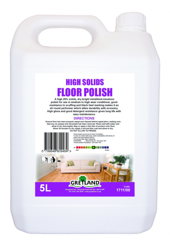 Great Value Floor Polish 5 Litre Pack of 1 | Carpet and Floor Cleaning |  |