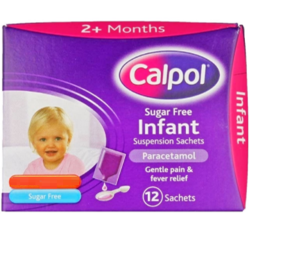 Great Value (P) Calpol Infant Suspension Sugar Free Sachets 5ml | A-C |  |