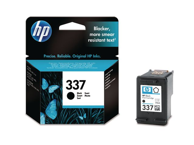 Great Value HP No.337 Black Ink Cartridge | Hewlett Packard | C9364EE | Hewlett Packard