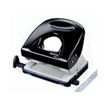 Leitz Punch 40mm - 40 Sheets Black | 548697 | Office Depot | Hole Punches