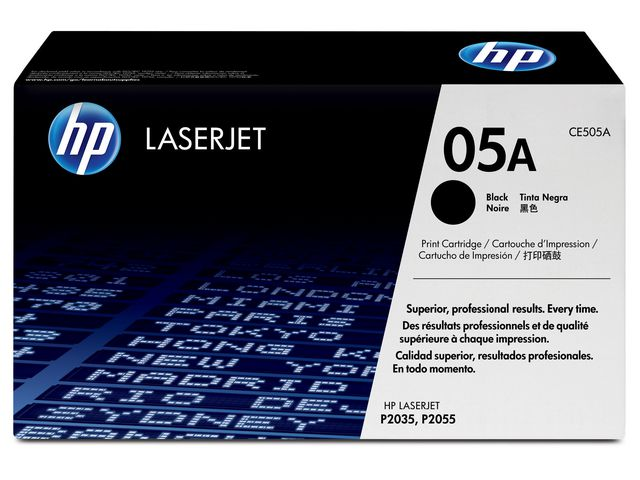 Great Value HP No.05A Black Toner | Hewlett Packard | CE505A | Hewlett Packard