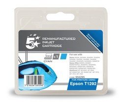 Cheap Epson T1292 Compatible Ink Cartridge Cyan | Compatible |  |