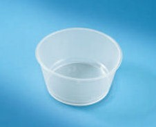 Great Value 60ml Plastic Gallipot Pack of 1 | Kidney Dishes, Trays & Bowls | RML108-062 | Medical Supermarket