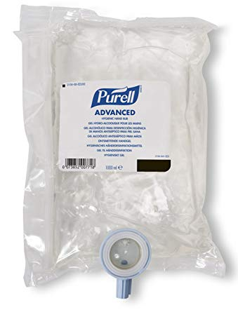 Great Value Gojo NXT Purell Instant Sanitiser 1000ml (Pk/8) | Hand Sanitisers | 2156-08-EEU00 | GOJO