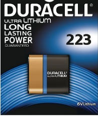 Cheap Duracell DL223A - Ultra M3 6V Lithium Battery | Standard Batteries |  |