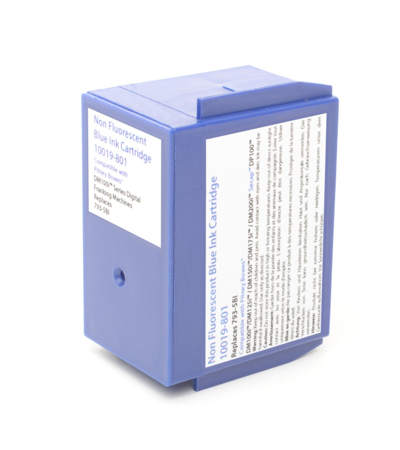 Cheap Blue Franking Machine Cartridge for DM100 | Canon | 10119-801 | Pitney Bowes