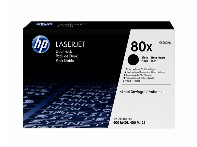 Great Value HP 80X High Capacity Laser Toner Cartridge | Hewlett Packard |  |