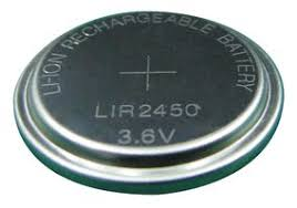 Cheap LIR2450 3.6v Lithium Ion Battery | Standard Batteries | CS6091 | Daray Medical