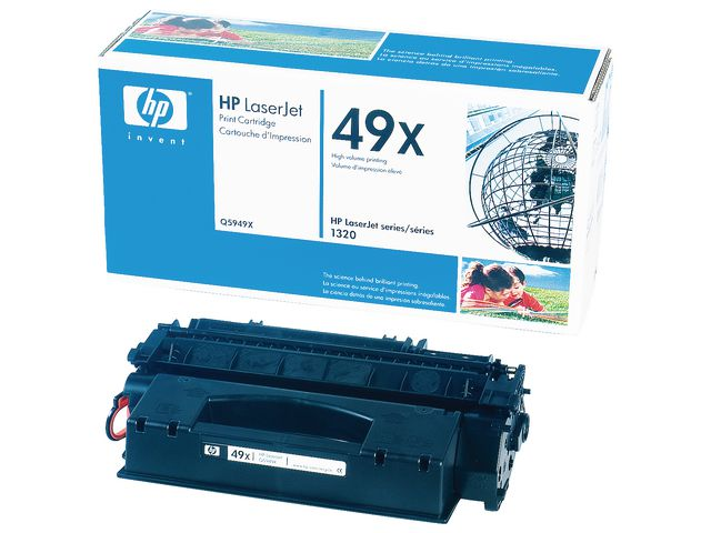 Great Value HP No.49X High Capacity Black Toner Single Pack | Hewlett Packard | Q5949X | Hewlett Packard