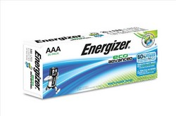 Cheap Energizer Eco Advance Batteries AAA | Standard Batteries |  |