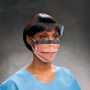 Cheap FluidProtect Procedure Face Mask & Anti-Fog Visor | Face Masks | FM3039 | Medical Supermarket
