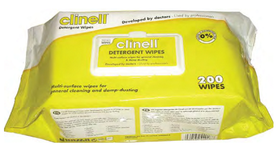 Cheap Clinell Detergent Wipes | Disinfectant Wipes |  | Clinell