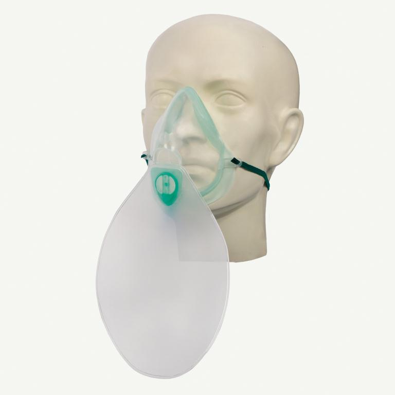Great Value Eco High Concentration Oxygen Mask With Tube Adult | Resuscitators & Masks | 1002000 | Intersurgical