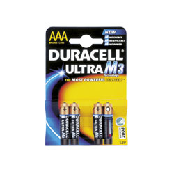 Cheap Duracell Ultra AAA Batteries Pack 4 | Standard Batteries |  |